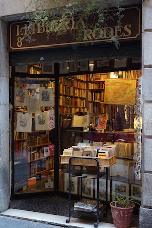 Книжная лавка. Барселона